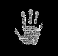 trafficing hand